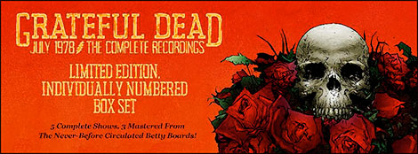 Grateful Dead July 1978: The Complete Recordings